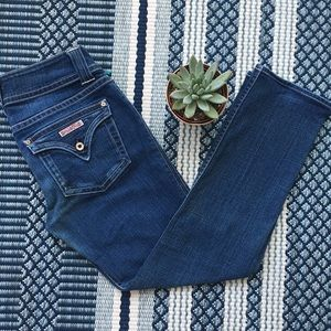 Hudson - Medium Wash Skinny Jeans
